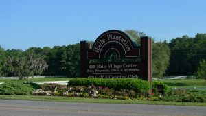 Haile Equestrian Center provides a pastoral scene at the entrance to Haile Plantation in Gainesville Florida