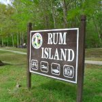Rum Island park sign - Fort White Florida
