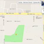 Kimberly Woods neighborhood map street view Gainesville FL
