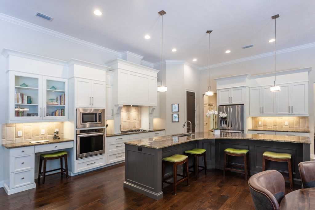 Custom chefs kitchen former Bullard Parade home Wilds Plantation