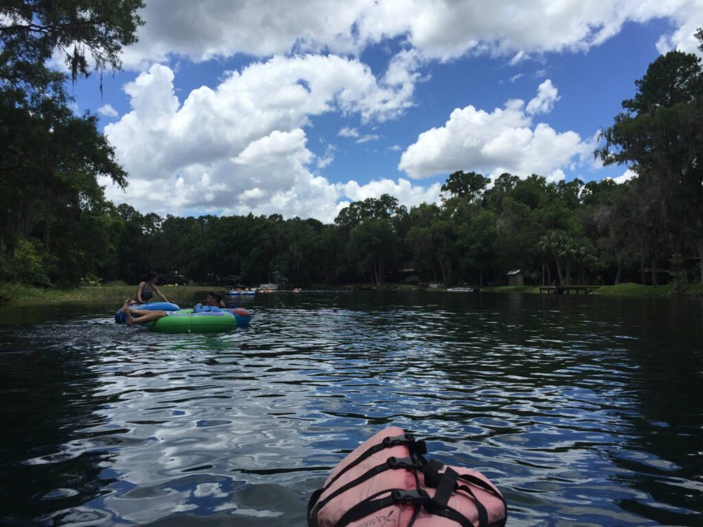 Kayaking Rainbow River